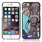 Roodfox New Fashion Elephant Star Design Hard Case Cover Skin For iPhone 6 6G 4.7 Inch