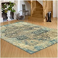 Superior's Zelda Collection Area Rug, 10mm Pile Height with Jute Backing, Durable, Fashionable and Easy Maintenance, 2 x 3 - Black