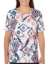 Plus Energy Tribal Print T-Shirt