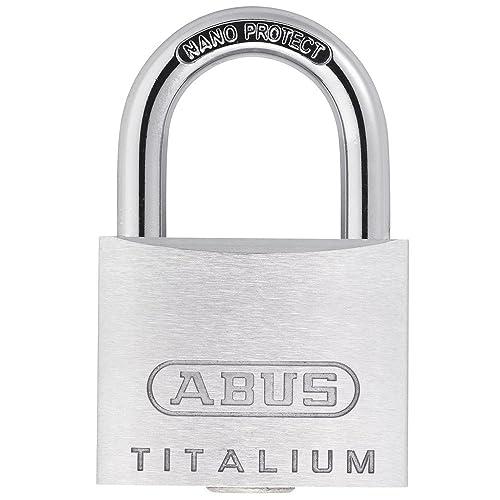 ABUS H19 56198 Cadenas à clé extérieur Titalium 64TI/45