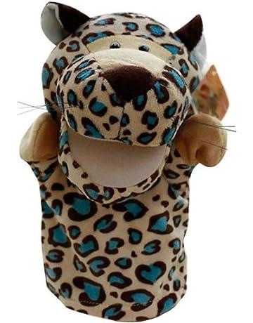 JVSISM Marionetas de Mano de Animal de Felpa de Terciopelo Lindo Disenos Elegantes Juguete Ayuda de