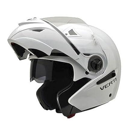 NZI 150207G113 Verti Casco de Moto, Color Blanco, Talla 61 (XL)