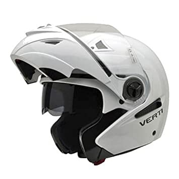 Amazon.es: NZI 150207G113 Verti Casco de Moto, Color Blanco, Talla 61 (XL)