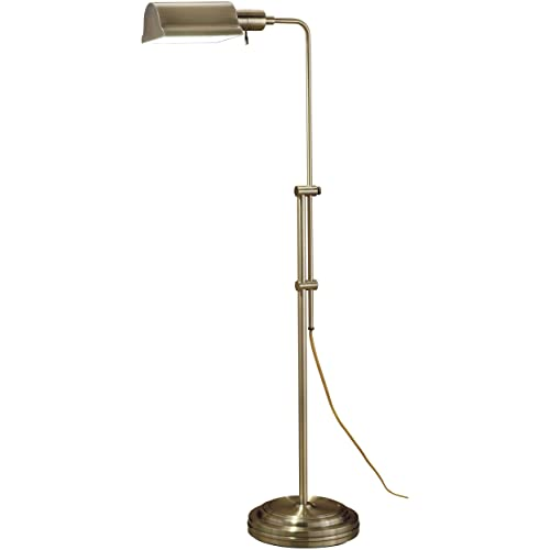 Brass Floor Lamp Amazon: Antique Brass Floor Lamp: Amazon.com