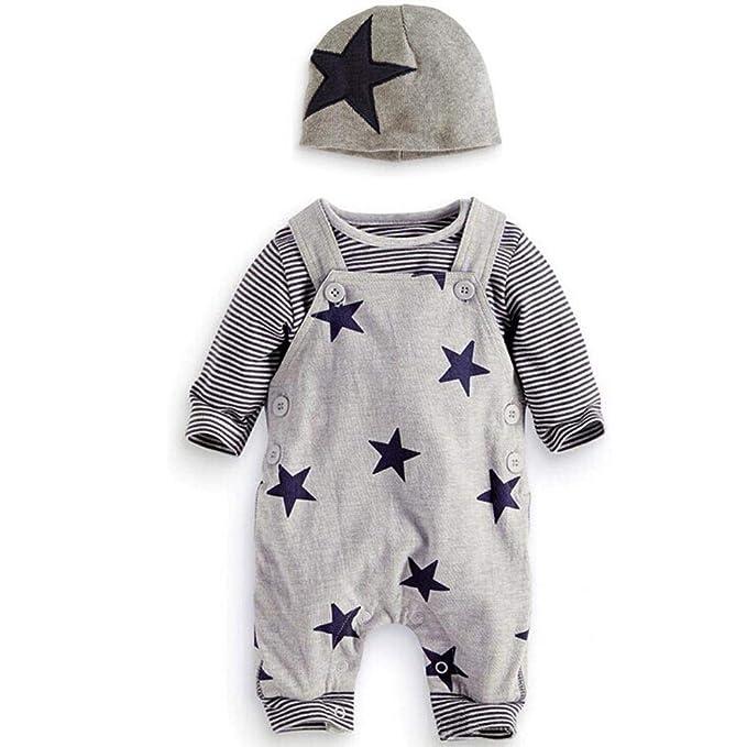 buy online 635fa 2d4af Sunday Neugeborene Baby Kleidung Mädchen Jungen Set Langarm ...