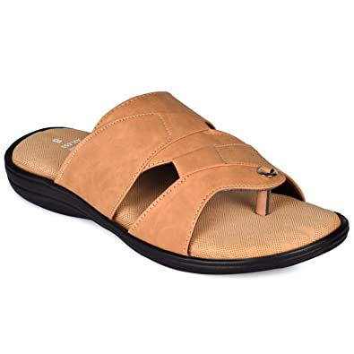 db1e77970303d2 PIPILIKA AK555 Beige Colour Leather Thong Greek Hawaii Flip Flop Sandals  for Men  Buy Online at Low Prices in India - Amazon.in