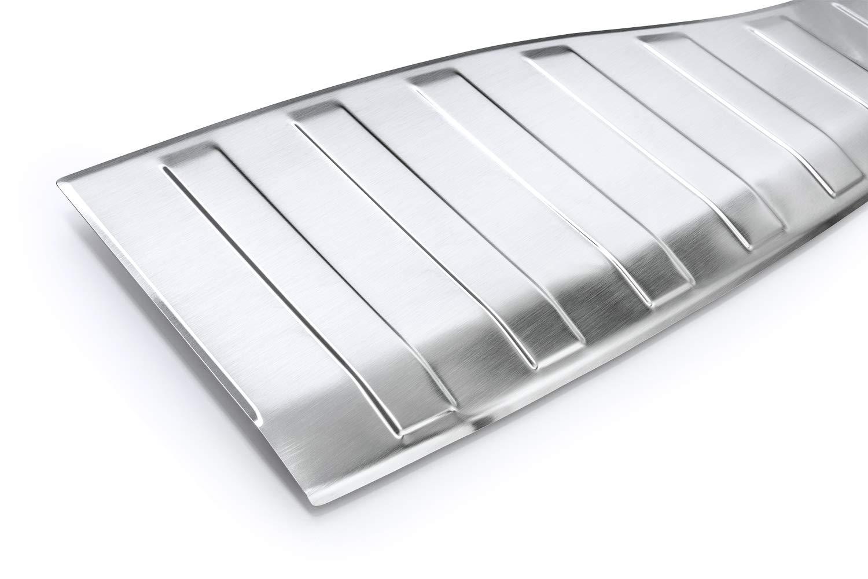 teileplus24 L606 Ladekantenschutz aus V2A Edelstahl mit Abkantung Farbe Edelstahl:Silber gl/änzend