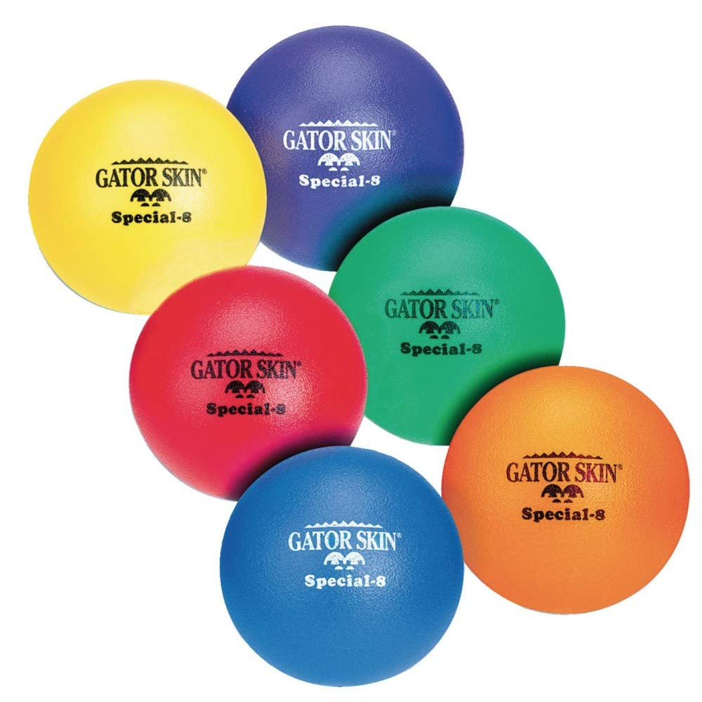 8'' Gator Skin Special Ball-Orange by S&S Worldwide