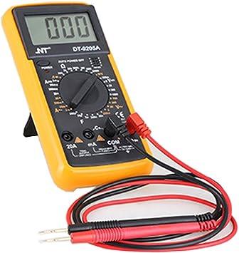 Digital Multimeter Pocket Multimetern Multi Tester Voltmeter Amperemeter Ohmmeter Ac Dc Spannung Dc Strom Widerstand Dioden Transistor Hörbarer Durchgangsprüfer Mit Hintergrundbeleuchtung Lcd Auto