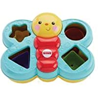 Encaixa Borboleta Fisher Price, Mattel, Azul