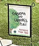 Garden Flag Grandma & Grandpa's Place 18 x 11.5″ Great gift for the grandparents – Gifts for Grandma – Gift for Grandpa Review