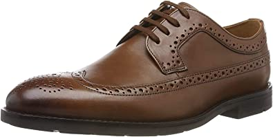 Sede personal bandera nacional  Amazon.com | Clarks Ronnie Limit, Men's Brogue, Brown (British Tan Leather)  | Oxfords