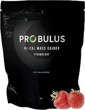 HI-CAL MASS GAINER de Probulus: producto para aumentar la MASA MUSCULAR completamente NATURAL. Ayuda a aumentar la masa magra ya aumentar de peso. ...