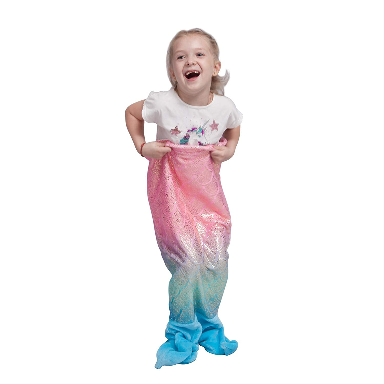 6bc9ea84af Manta de Cola de Sirena para niños