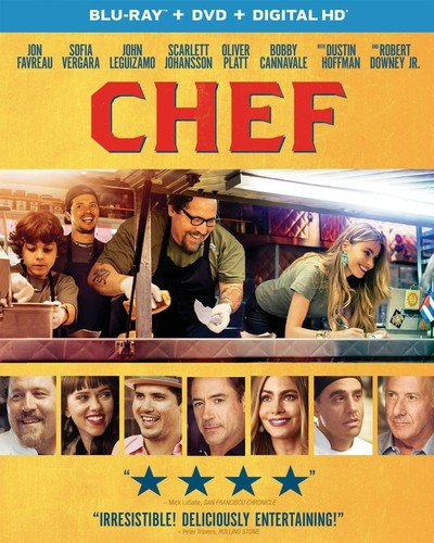 Blu-ray : Chef (Ultraviolet Digital Copy, Digital Copy, 2 Pack, Snap Case, Slipsleeve Packaging)
