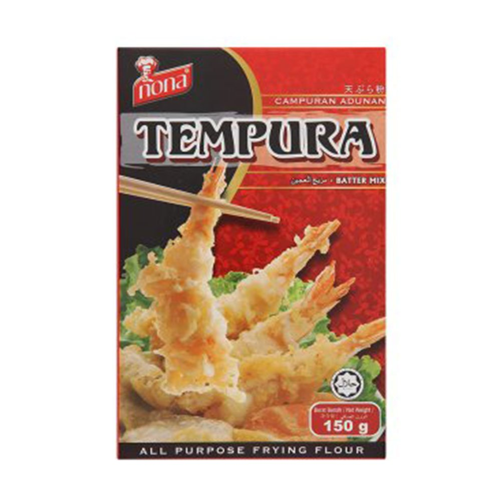 Nona Tempura Batter Mix All Purpose Frying Flour 150g (628MART) (3 Pack) by Nona