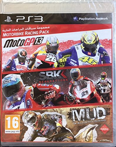 Motorbike Racing Pack: MotoGP13, SBK Generations, MUD: FIM Motocross World Championship [PlayStation 3, PS3]