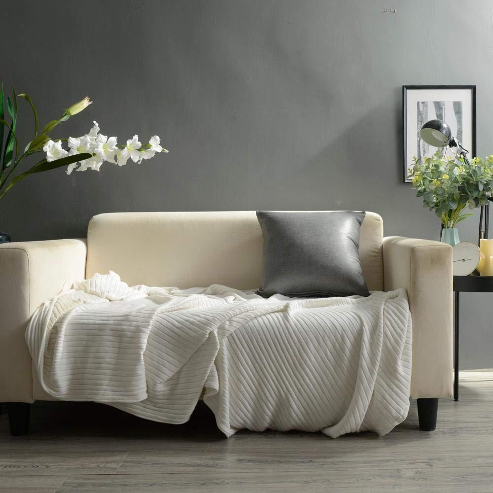 VJGOAL Moda Casual Color sólido Imitación de Cuero Sofá ...