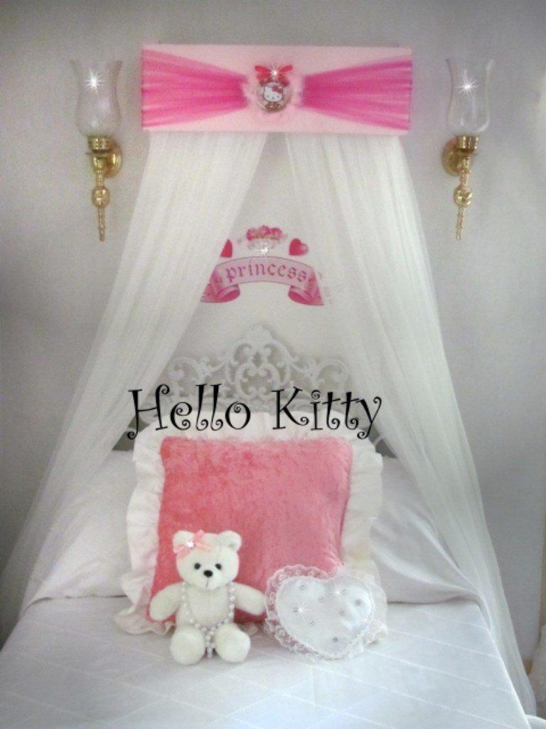 Hello Kitty Disney Princess Bed Canopy