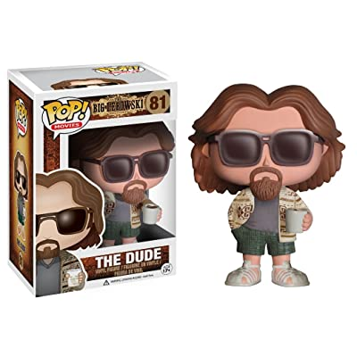 Funko POP Movies The Big Lebowski The Dude Vinyl Figure: Funko Pop! Movies:: Toys & Games
