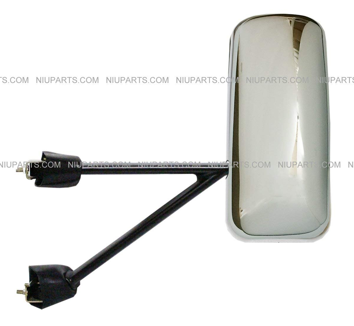 Fit: Kenworth T660 T600 T370 T270 T170 T800 T470 T440 Truck Door Mirror Power Heated Chrome with Arm Driver Side