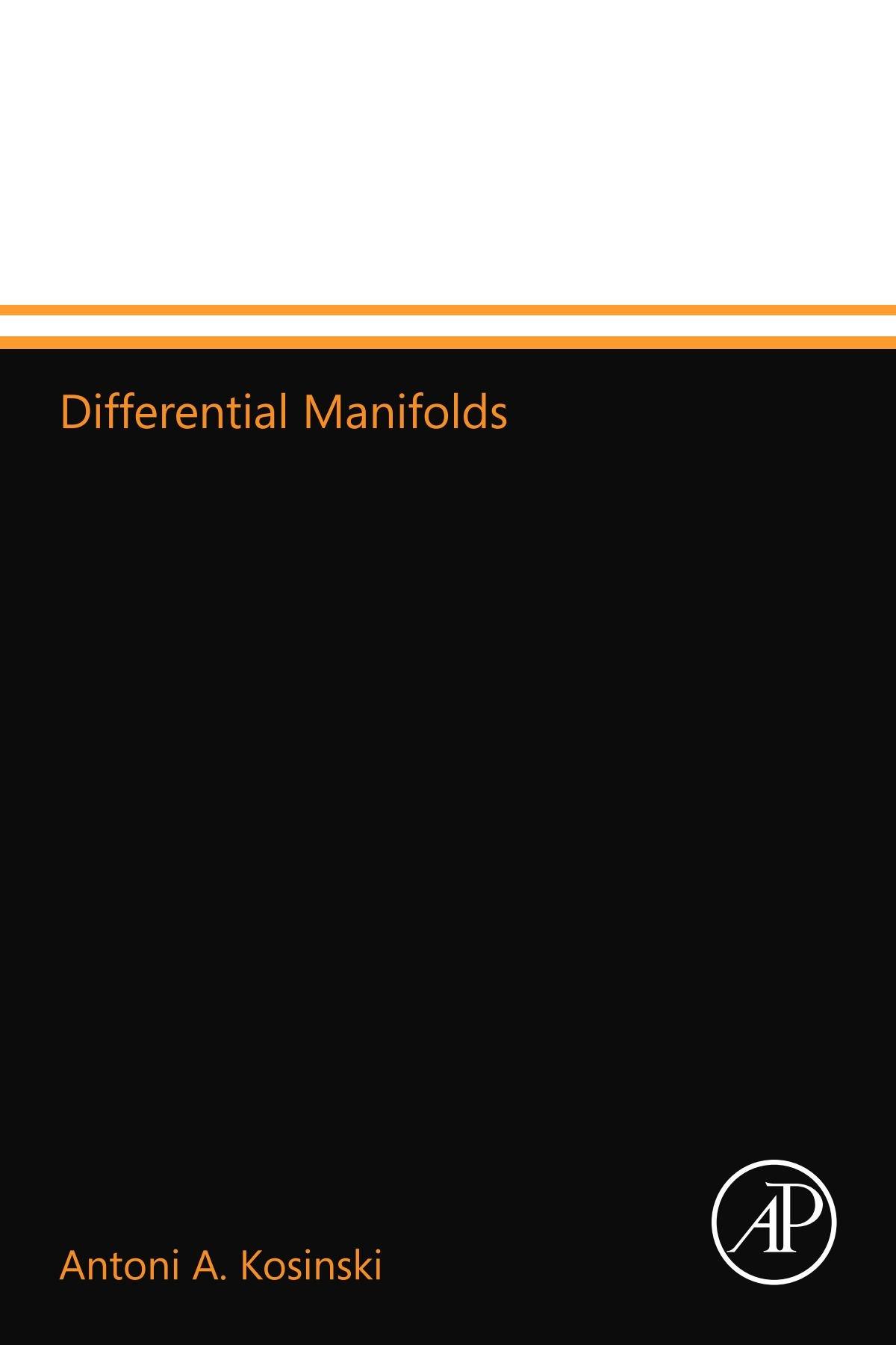 differential manifolds kosinski antoni a