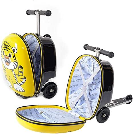 Amazon.com: Maleta infantil para patinete de 18 pulgadas con ...