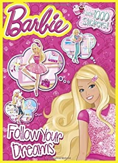 Barbie Live Life With Love Jumbo Coloring Activity Book Mattel