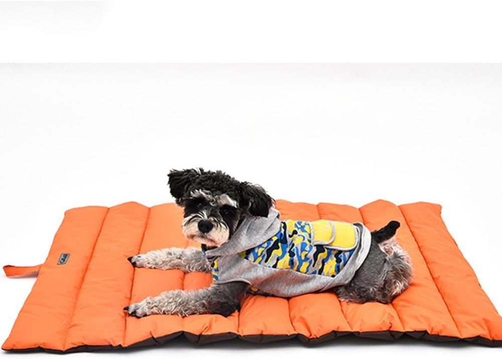 GUORZOM Outdoor Hundematte Wasserdichte Pet Bett Tragbare Pet House Weichen Bequemen Hundebetten F/ür Gro/ße Hunde Nicht Sticky Haar Kennel