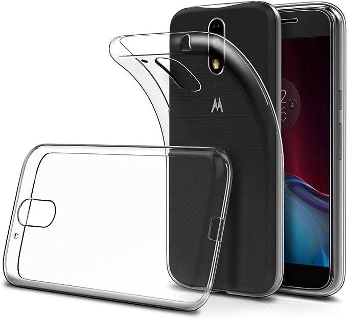 Funda Moto G4 Play TPU Transparente Slim Silicona Case Cover [Anti ...