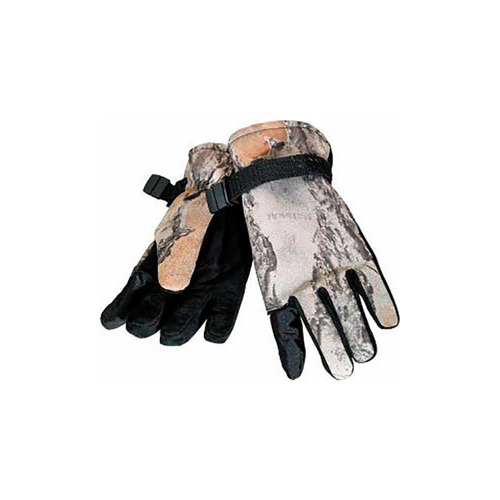 Natural Gear Waterproof Insulated Gloves Polyester Natural Gear Natural Camo Medium/Large by Natural Gear