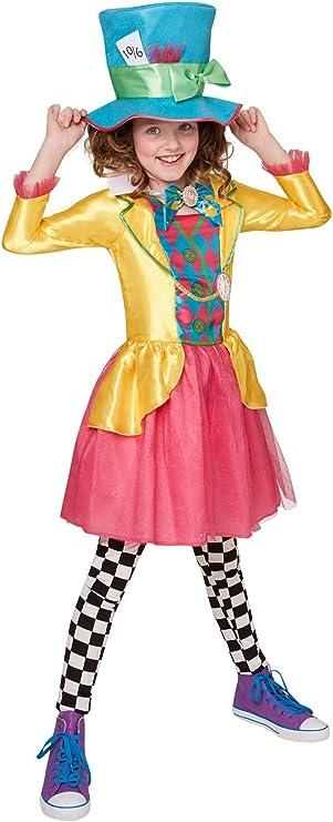 Rubiess – Disfraz de personaje Sombrerero Loco, de Alicia en el ...