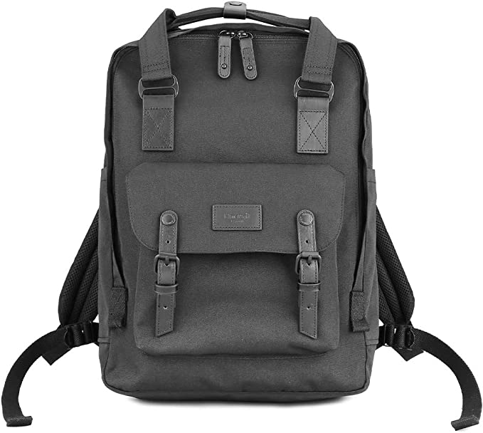 Himawari Travel Laptop Backpack for Men Women Huge Capacity 15.6 Computer Notebook Bag for School College Students(Navy Blue)