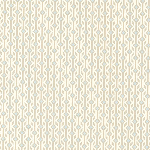 Beige Geometric Wallpaper - Brewster 2532-20465 Emmett Tribal Geometric Wallpaper, Beige