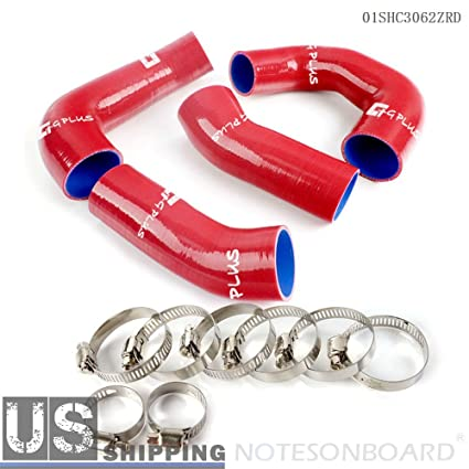 Amazon.com: Gplus Silicone Radiator Boost Hose Clamps Kit For Porsche 911 997 Turbo: Automotive
