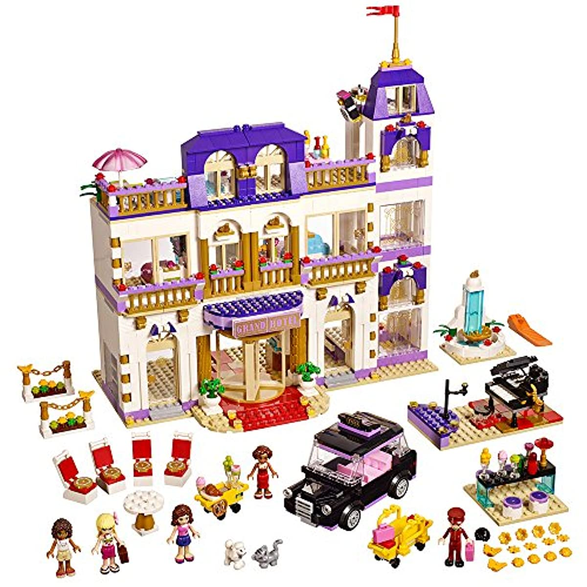 [레고 프렌즈] LEGO Friends Heartlake Grand Hotel 41101 Popular Kids Toy