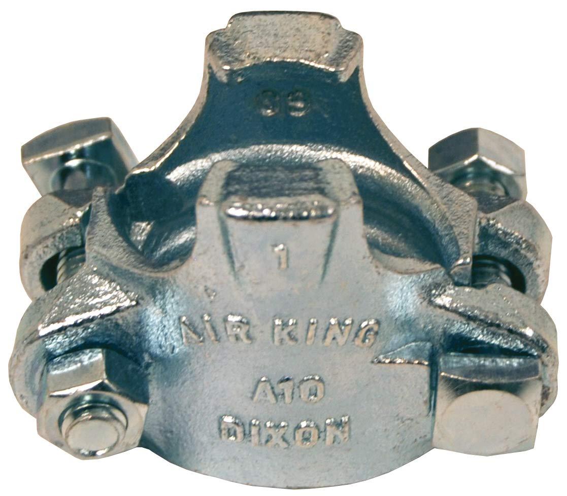 Dixon Air King A10 Carbon Steel Clamp, 1'' Diameter, 1-20/64'' - 1-32/64'' Hose OD by Dixon Valve & Coupling