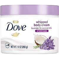 Dove Whipped Lavender and Coconut Milk Body Cream (10 oz)