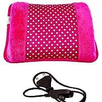 GT Gloptook Electric Rechargeble Heating Bag Hot Gel Bottle Pocket Massager Rectangle Shaped (Multicolor)