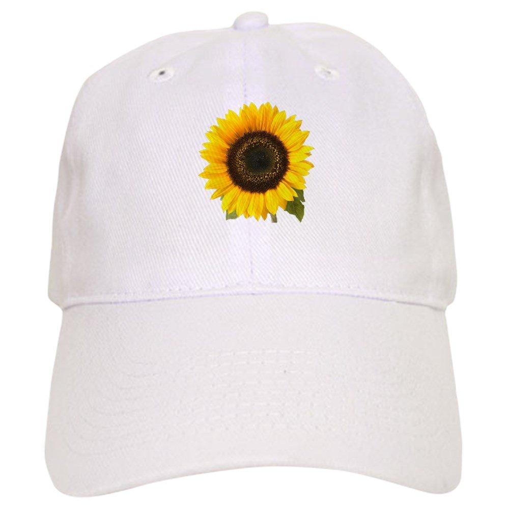 Amazon.com  CafePress - Sunflower - Baseball Cap with Adjustable Closure f1f2d5fb3668