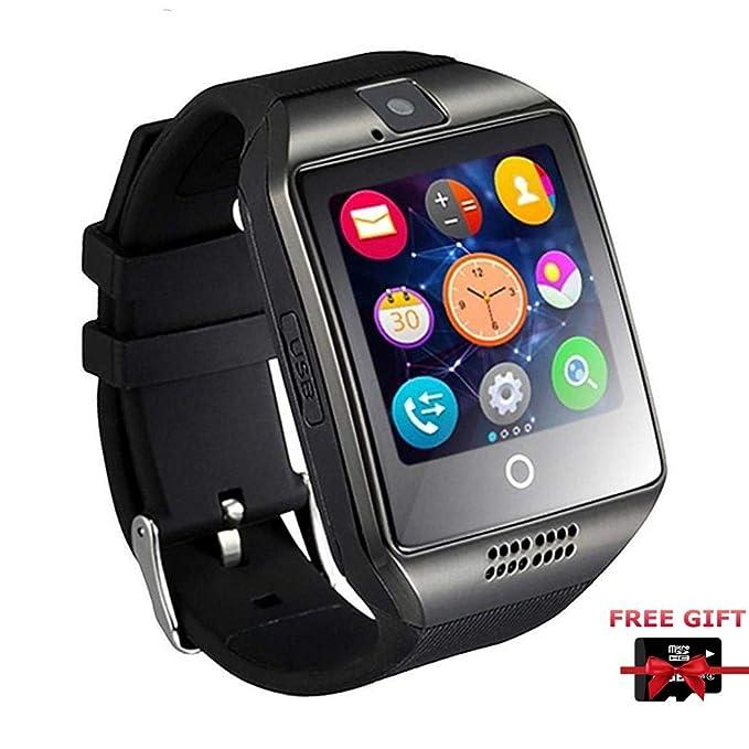 Amazon.com: Smart Watch, Bluetooth Smartwatch with Camera TF ...