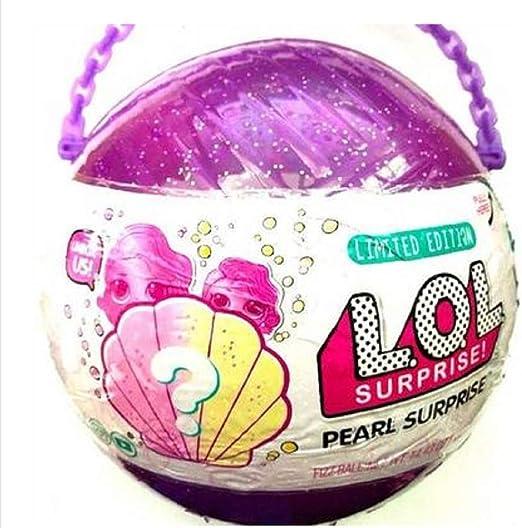 Lol Split Ball - Caja ciega para muñecas, diseño de bola de mano, Muñeca morada de 20 cm., 1: Amazon.es: Hogar