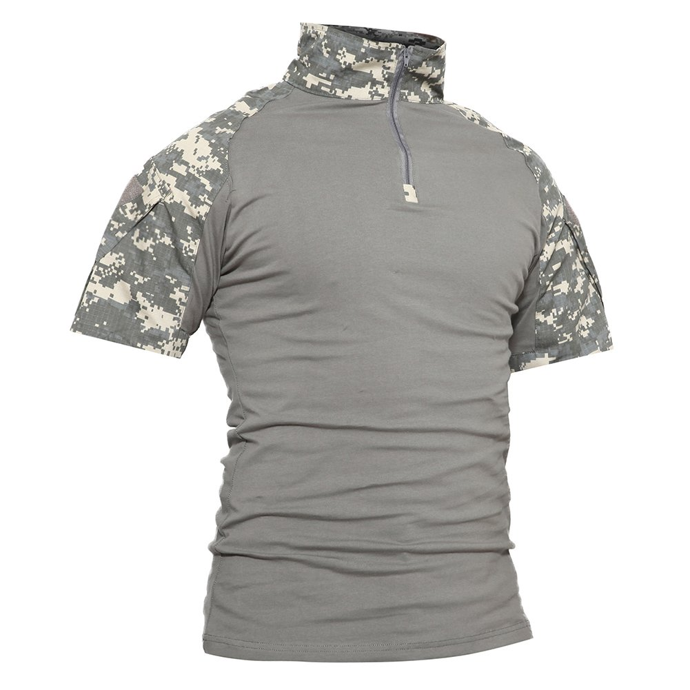 bae8fb09 Amazon.com: TACVASEN Men's Military Rapid Assault Sleeve Slim Fit Short  Sleeve Combat T-Shirt: Clothing