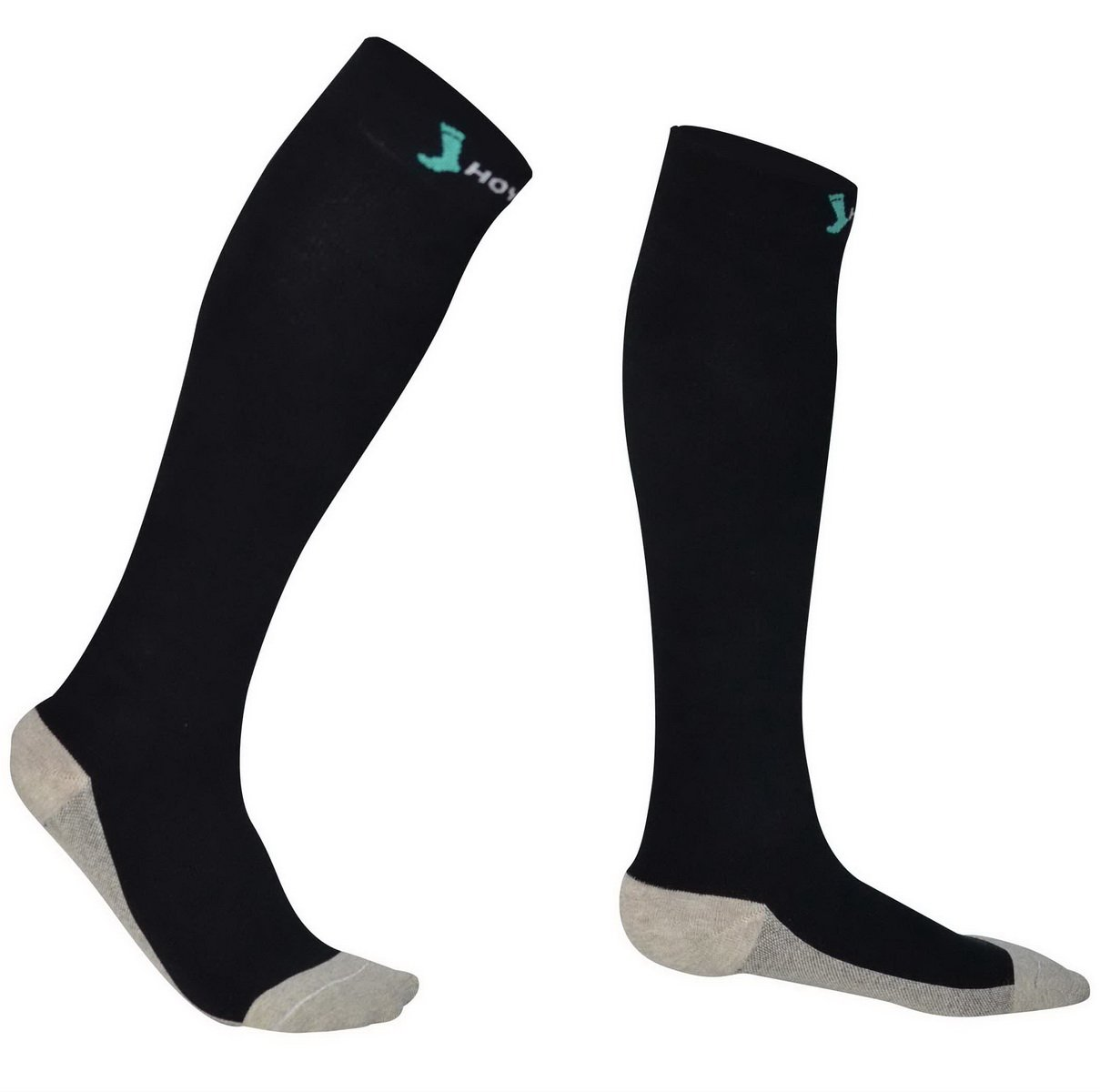 Fully Cushioned Merino Wool - Comfortable Thermo 20-30 mmHg Graduated Winter Compression Socks for...