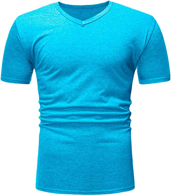 Shirt for Men F/_Gotal Mens T-Shirts Fashion Summer Short Sleeve 3D Ink Printing Comfortable Casual Tee Blouse Tops