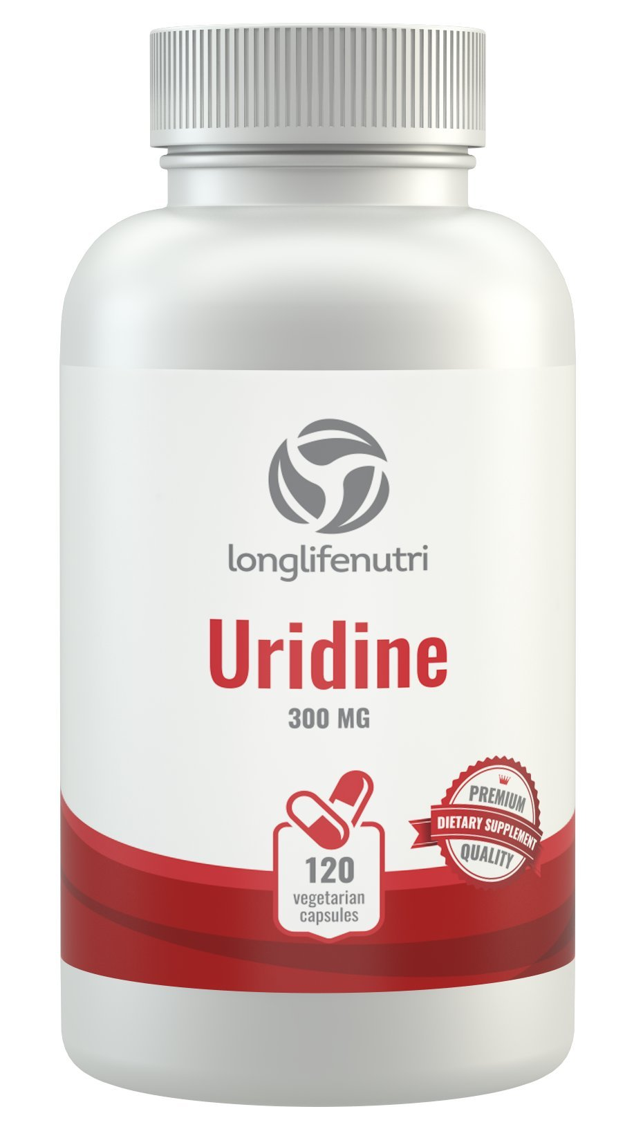 Uridine Monophosphate 300mg - 120 Vegetarian Capsules | Made In Usa | Choline Enhancer | Supports Cholinergic Brain & Memory Function | Helps Synapses Growth | 300 mg Pure Powder Pills Complex Formula by LongLifeNutri (Image #9)