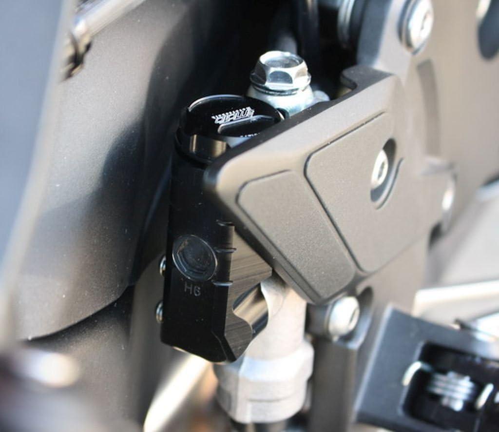 GSG-Moto Bremsbehälter Schwarz eloxiert hinten Kawasaki ZX-10R ZXT00D 06-07 ABE
