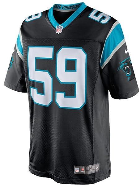 ce025bba6 Amazon.com   Luke Kuechly Carolina Panthers Nike Limited Jersey   Sports    Outdoors