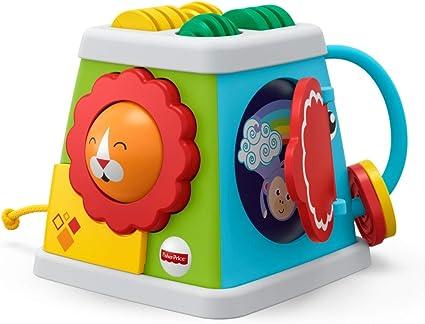 section spéciale super qualité belle et charmante Fisher-Price Cube d'Activités à 5 côtés, jouet d'éveil pour bébé, 6 mois et  plus, FYK64