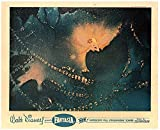 Walt Disney Fantasia Original Lobby Card Blonde Fairy With Wings in Nutcracker